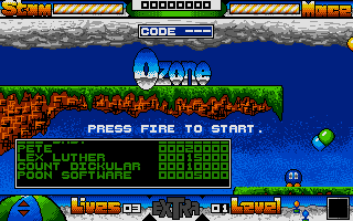 Screenshot of Ozone 2