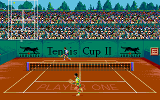 Screenshot of Tennis Cup II