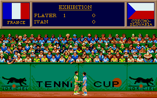 Screenshot of Tennis Cup