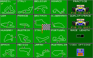 Thumbnail of other screenshot of Nigel Mansell´s Grand Prix
