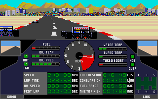 Screenshot of Nigel Mansell´s Grand Prix