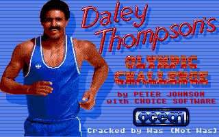 Thumbnail of other screenshot of Daley Thompson's Olympic Challenge