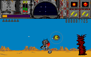 Screenshot of Thunder Burner