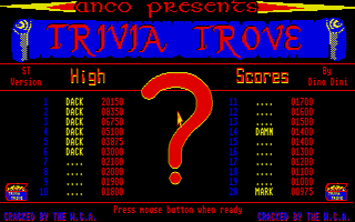 Thumbnail of other screenshot of Trivia Trove