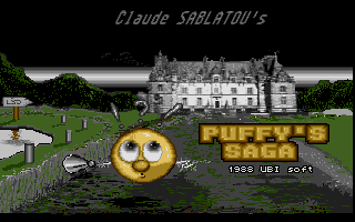 Screenshot of Puffy's Saga
