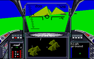 Screenshot of Strike Force Harrier