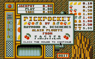 Thumbnail of other screenshot of Pickpocket