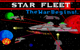 Thumbnail of other screenshot of Star Fleet I - The War Begins