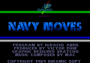 Screenshot of Navy Moves