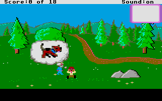 Screenshot of Mixed-Up Mother Goose