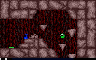 Screenshot of Crystal Caverns