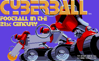 Thumbnail of other screenshot of Cyberball - Football in the 21st century