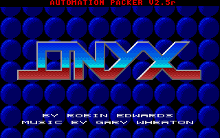 Screenshot of Onyx