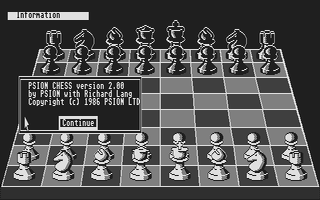 Thumbnail of other screenshot of Psion Chess