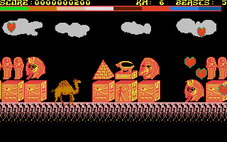 Screenshot of Revenge of the Mutant Camels II