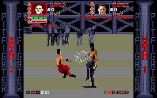 Screenshot of Pit-Fighter
