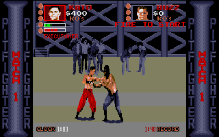 Thumbnail of other screenshot of Pit-Fighter