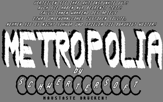 Screenshot of Metropolia