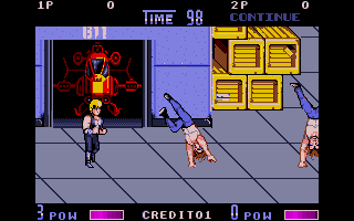Screenshot of Double Dragon 2 - The Revenge