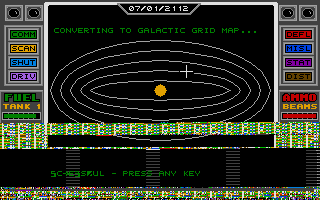 Screenshot of Space Conquest - A Galactic Odyssey