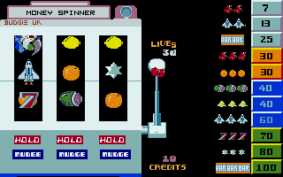 Screenshot of Money Spinner