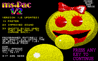 Thumbnail of other screenshot of Ms.Pac