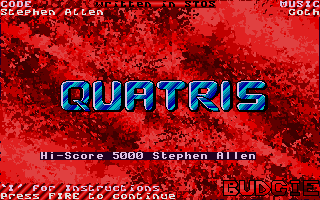 Screenshot of Quatris