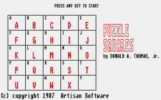Thumbnail of other screenshot of Puzzle Squares