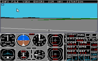 Thumbnail of other screenshot of Flight Simulator 2 - Scenery Disk 13 - Japan