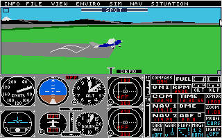 Screenshot of Flight Simulator 2 - Scenery Disk 13 - Japan