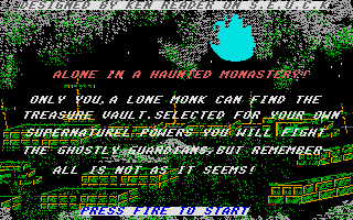 Thumbnail of other screenshot of Alone In A Haunted Monastery