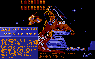 Screenshot of Location Universe 2