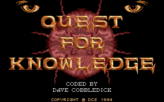 Screenshot of Quest For Knowledge