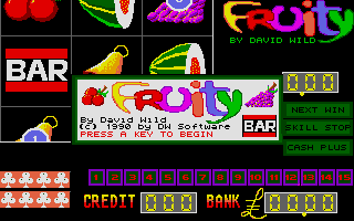 Screenshot of Fruity