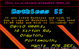 Thumbnail of other screenshot of Ruthless II
