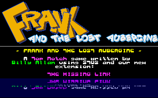 Thumbnail of other screenshot of Frank And The Lost Aubergine