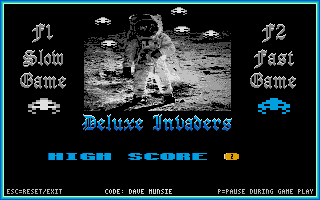 Thumbnail of other screenshot of Deluxe Invaders