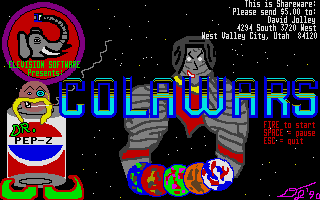 Thumbnail of other screenshot of Colawars