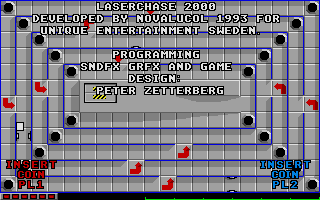 Screenshot of Laserchase 2000