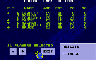 Thumbnail of other screenshot of Graeme Souness Soccer Manager