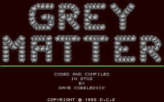 Thumbnail of other screenshot of Grey Matter