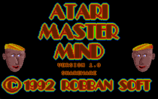 Thumbnail of other screenshot of Atari Master Mind