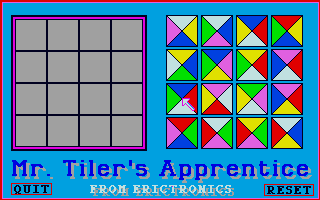 Screenshot of Mr. Tilers Apprentice
