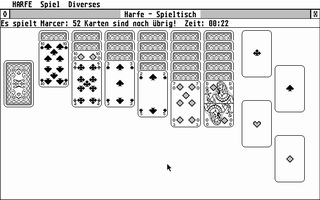 Screenshot of Harfe