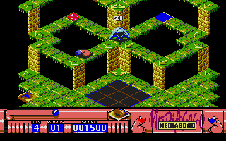 Screenshot of Dal'X - Data Disk 1