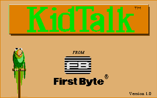 Large screenshot of Kidtalk