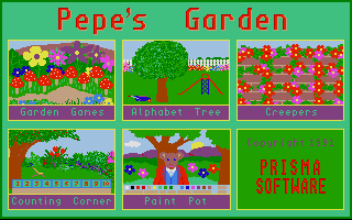 Screenshot of Pepe's Garden