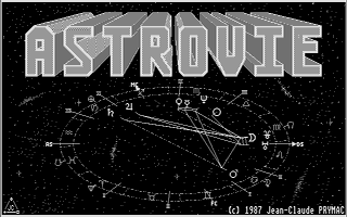 Large screenshot of Astrovie