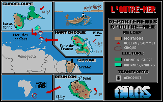 Thumbnail of other screenshot of Atlas France (C.Q.F.Découvrir la France)