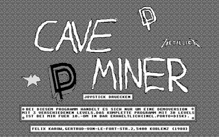 Large screenshot of Cave Miner